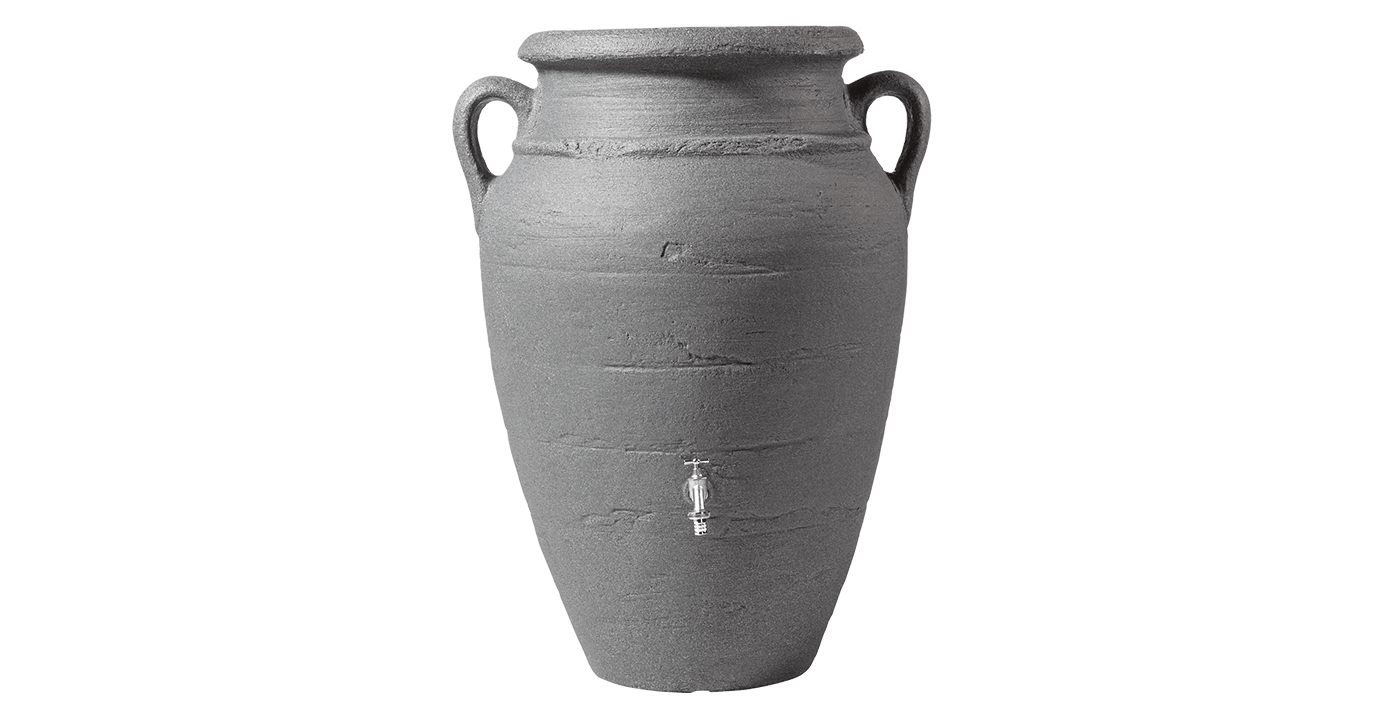 rezervor suprateran antique wall amphora dark granite