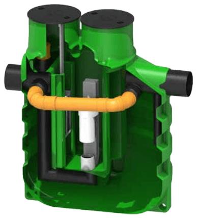 separator de hidrocarburi pentru benzinarii cu bypass 10%