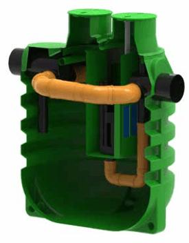 separator de hidrocarburi pentru benzinarii cu bypass 20%