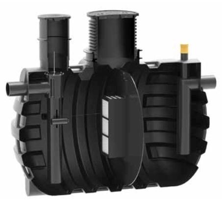 separator de hidrocarburi pentru benzinarii