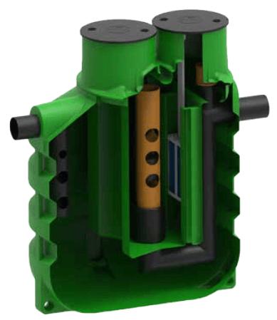 separator pentru de hidrocarburi pentru benzinarii